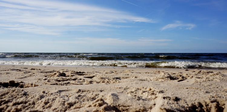 Przystań u Piotra - na plaży